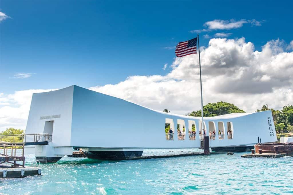 Memorial de Pearl Harbor, Hawaii