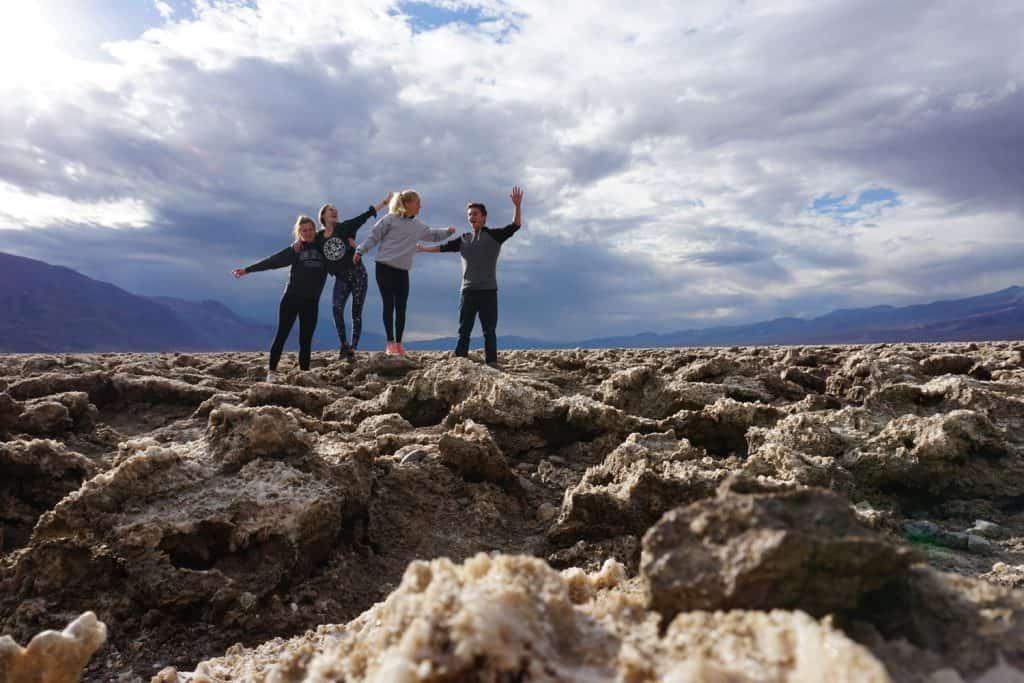 Death Valley con Lynne, Nathalie y Lukas